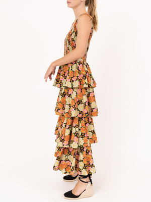 Naomi Dress in Electric Petal