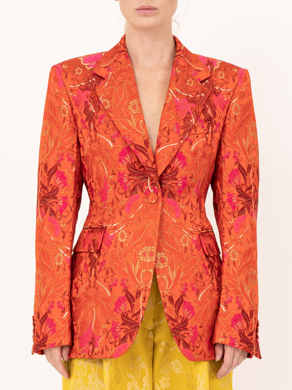 Dries Van Noten Bachelore Jacket in Red