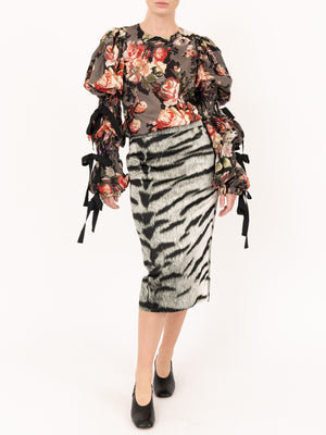 Dries Van Noten Santony Long 9325 Skirt in Desb