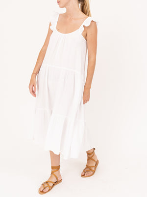 Rumer Dress in White Wash