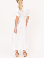 Caylin Dress In White Wash
