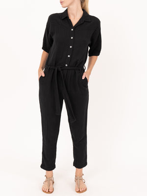 Theo Jumpsuit in Black
