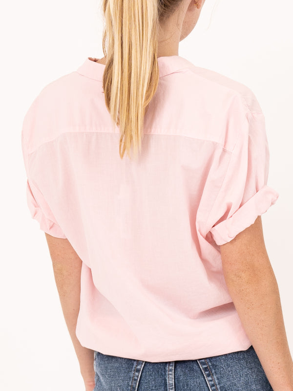 Channing Shirt in Coral Pink