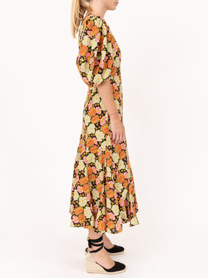 Rhode Resort Fiona Dress in Electric Petal