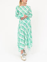 Elsa Dress In Sponge Check