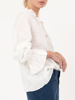Thelina Top in Ivory