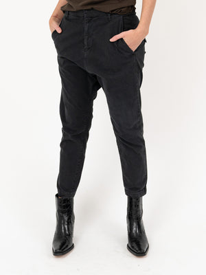 Paris Pant in Washed Black