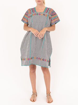 Pippa Holt No.74 Embroided Mini Kaftan