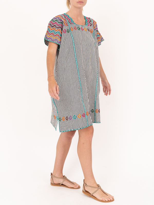 No.74 Embroided Mini Kaftan