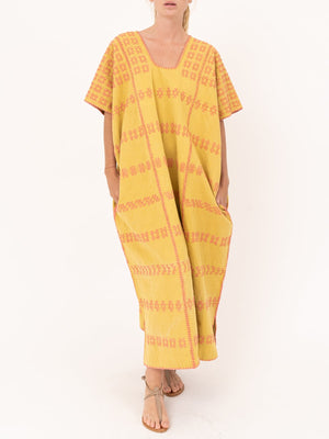 Pippa Holt No.105 Embroided Midi Kaftan
