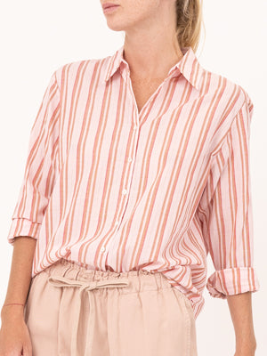 Beau Shirt in Rose Glow