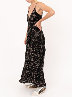 Ganni Polka Dot Strap Dress