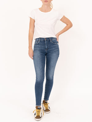 Sophie High Rise Ankle Skinny in Tame