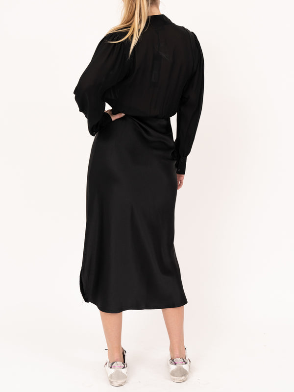 Federica Dress in Black