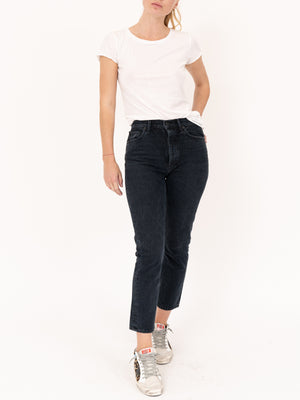 Riley Straight Crop High Rise