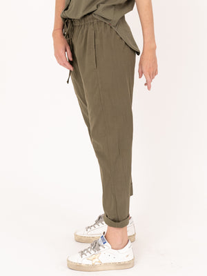 Draper Pant in Bottle Green