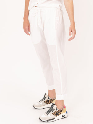 Draper Pants in White
