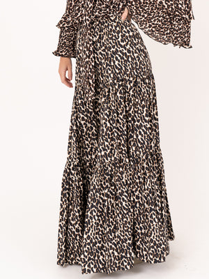 Big Skirt in Leopard