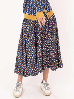 Circle Skirt in Pinwheel