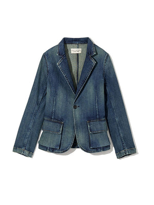 ADDISON BLAZER IN WALKER WASH