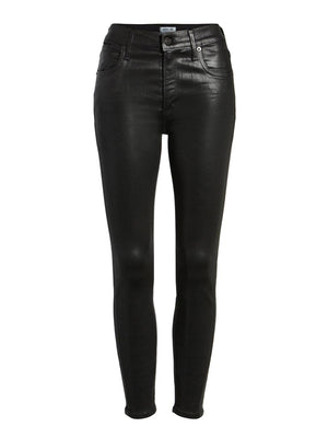 LEATHERETTE SOPHIE CROP