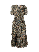 Ulla Johnson Aliya Dress In Night Garden