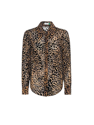 Andrea Top in Leopard Burnout