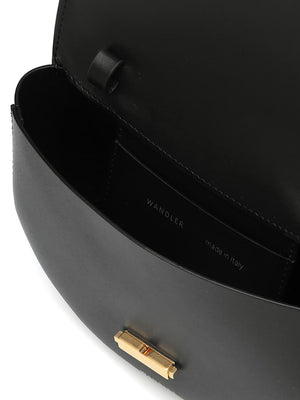 Anna Belt Bag in Black