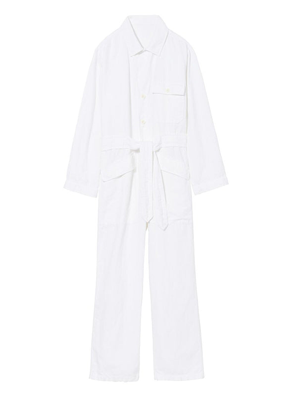 Nili Lotan Aria Jumpsuit in White