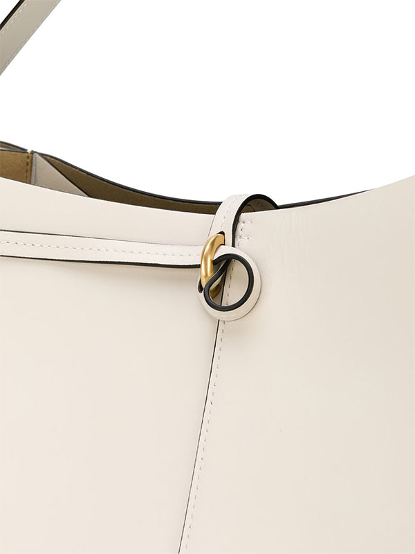 Wandler Ava Big Tote in White Crust