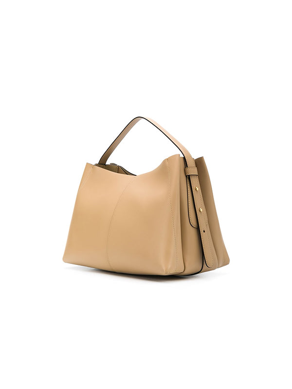 Wandler Ava Medium Tote in Biscuit