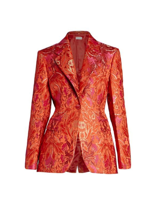 Dries Van Noten Bachelore Jacket in RedDries Van Noten Bachelore Jacket in Red