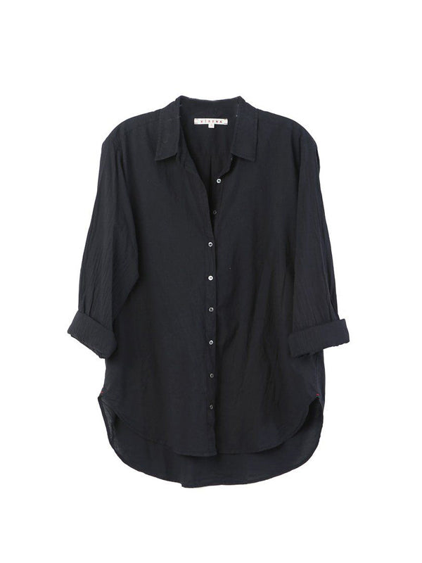 BEAU SHIRT IN VINTAGE BLACK
