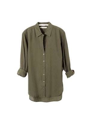 Beau Shirt in Bottle Green