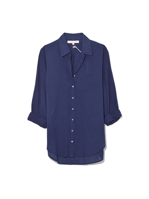 Beau Shirt in Marine Blue