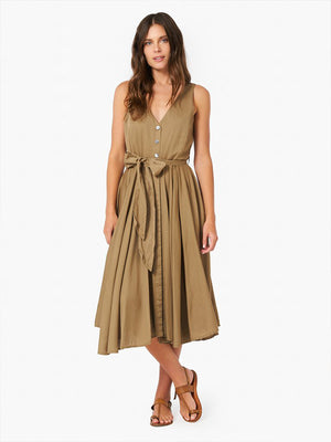Xirena Bell Dress in Khaki