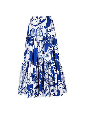 Big Skirt in Marea Blue