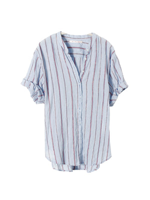 KAYDEN SHIRT IN BLUE STRIPE