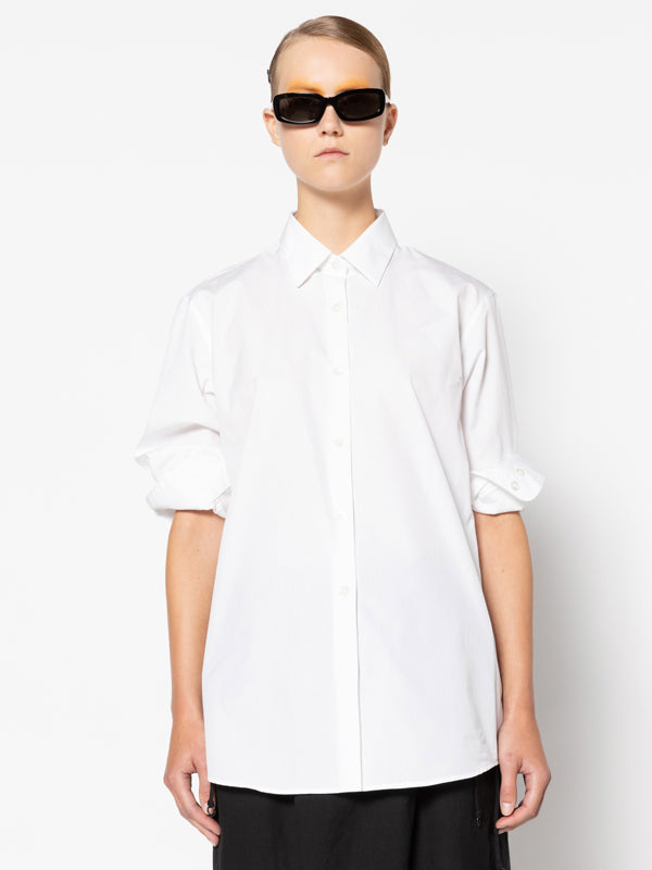 Dries Van Noten Clavelly Shirt in White