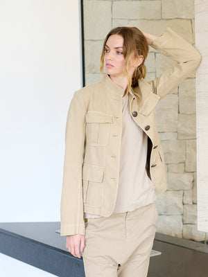 Cambre Jacket in Desert Sand