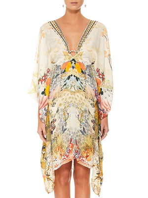 SHORT KAFTAN IN LADY LABYRINTH