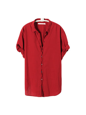 CHANNING SHIRT IN RED EARTH