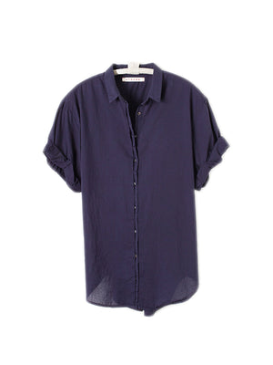Channing Shirt in True Navy