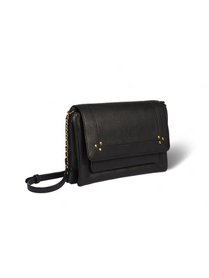 Jerome Dreyfuss Charly Medium in Noir Brass