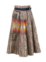 Check x Pendleton Print Skirt