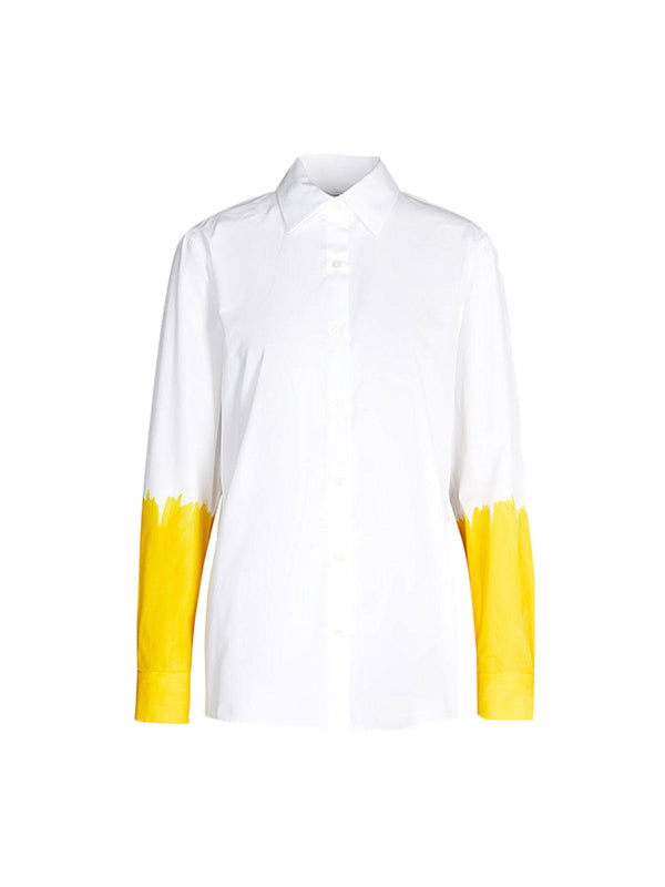 CLAVELLY HANDP.7221 W.W.SHIRT in Yellow