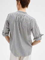 Clemont Top in Black Stripe
