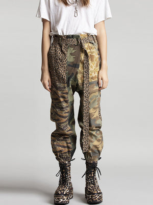 R13 Crossover Utility Drop Pant in Multi Camo
