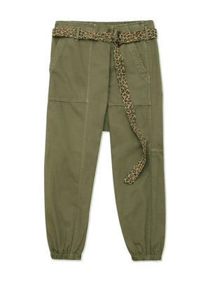 Crossover Utility Drop Pant in Olive