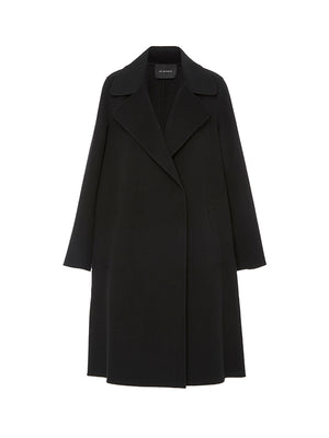 DALLAS CASHMERE COAT IN BLACK